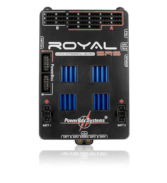 PowerBox Royal SRS mit Sensor-Schalter