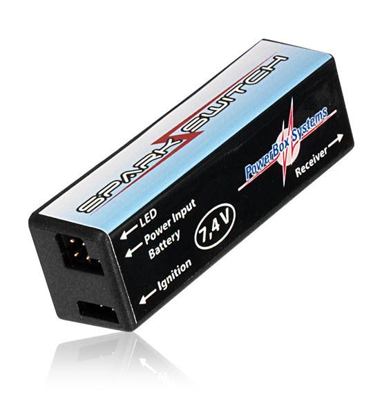 PowerBox Systems Zündschalter SparkSwitch 7.4 V