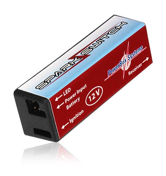 PowerBox Systems Zündschalter SparkSwitch 12.0V