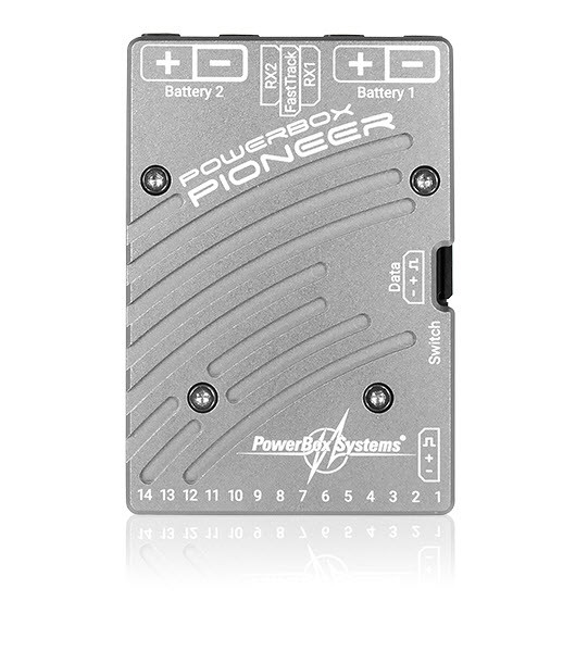PowerBox Pioneer mit Micro Switch